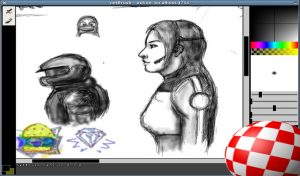 netbrush: Online painting with friends