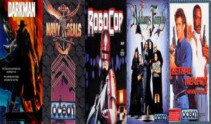 5 Great Amiga games by Ocean Software