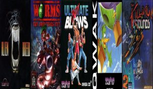 5 Great game releases by Team17 for Commodore Amiga