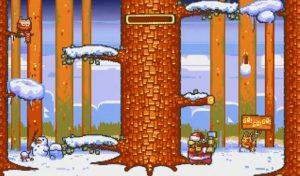 Lumberjack Xmas released for Commodore Amiga