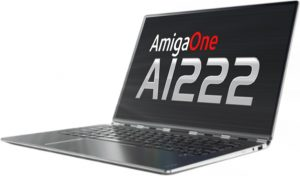 New details of AmigaOne A1222 laptop kit released