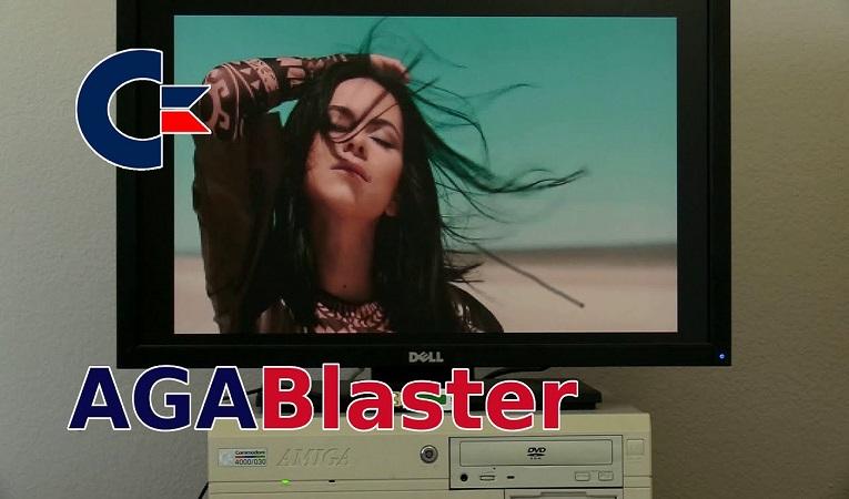 AGABlaster 0.9.70 released: Amazing Commodore Amiga CDXL Video Player