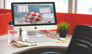 Flower Pot: easy way to install AmigaOS4 on Mac and PC