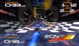 Wipeout 2097 made it to the Commodore Amiga