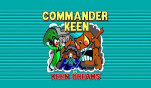 Commander Keen in Keen Dreams now available on Commodore Amiga