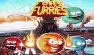 Fury of the Furries, amazing platform game with puzzles