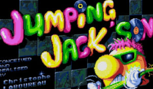 Jumping Jackson, original and addictive game