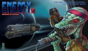 """New Amiga game release : """"Enemy 2: Missing in action'"""