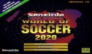 New enhanced release of Sensible World of Soccer 2020