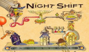Night Shift, a great classic from Lucasarts