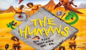 The Humans, Lemmings with cavemen and dinosaurs