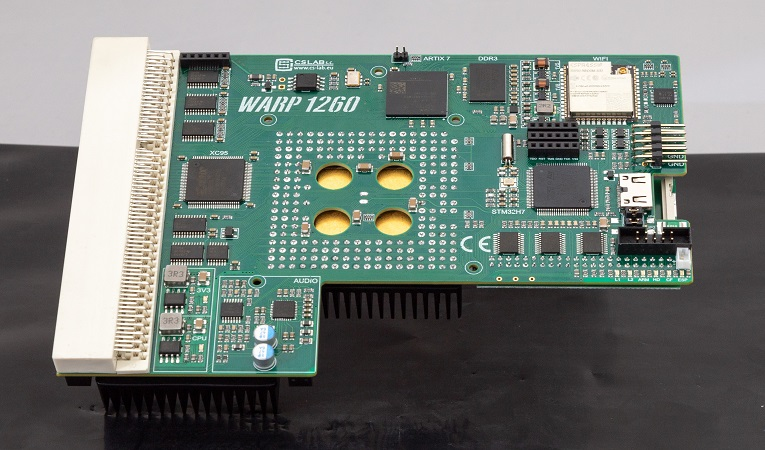 Beta launch of Warp 1260 accelerator for Commodore Amiga 1200