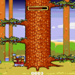 Lumberjack Reloaded: Chop down as many trees as you can
