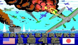 Battlehawks 1942: One of the best World War II combat simulators from the 80s