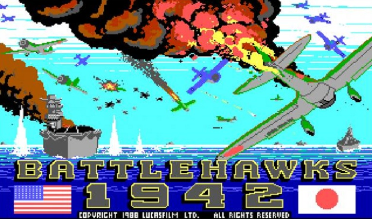 Battlehawks 1942: One of the best World War II combat simulators from the 80s