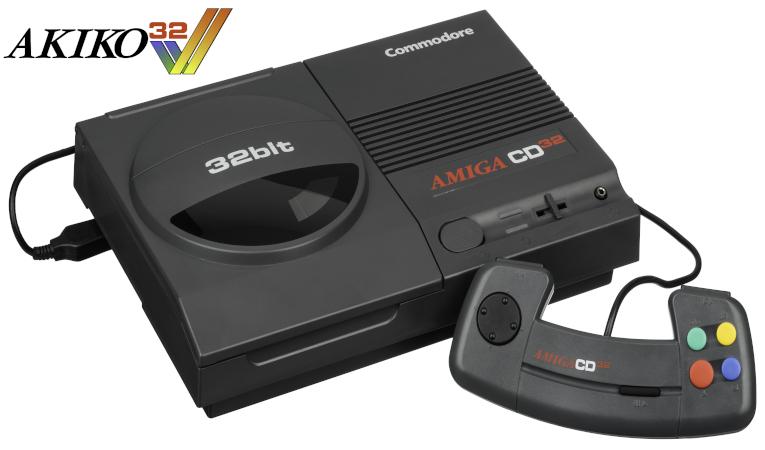 Akiko32: Replica of Amiga CD32 in final development phase
