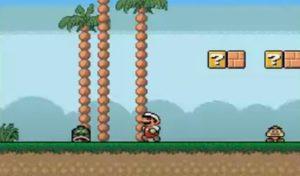 Amiga version of Mario in development using the Scorpion game engine