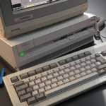 History: The Amiga 3000 Computer is released by Commodore