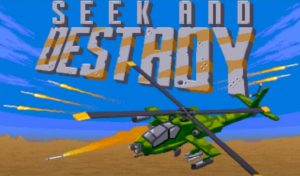 Seek and Destroy: An excellent and original shoot em up from the 90s