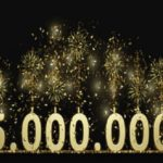 We hit the 5.000.000 mark today, big thanks to everyone