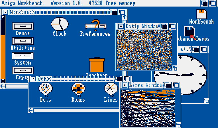 Amiga Workbench 1.0: Truly ahead of its time