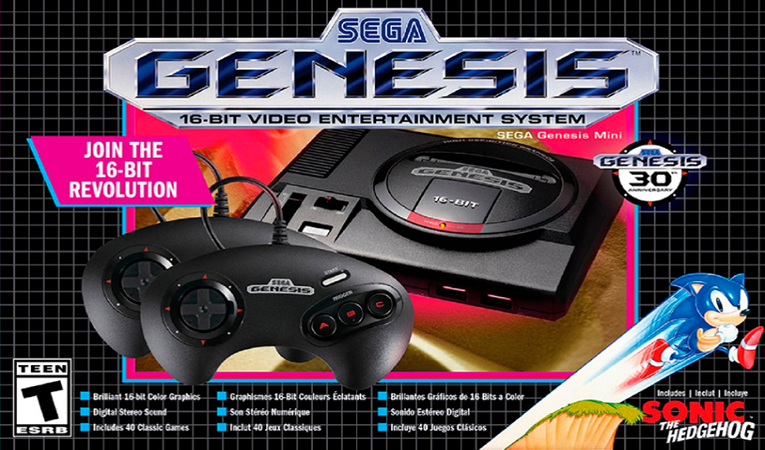 Sega's Genesis Mini is now available for only €43