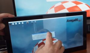 Third party developer working on multi-touch for AmigaOS 4.1