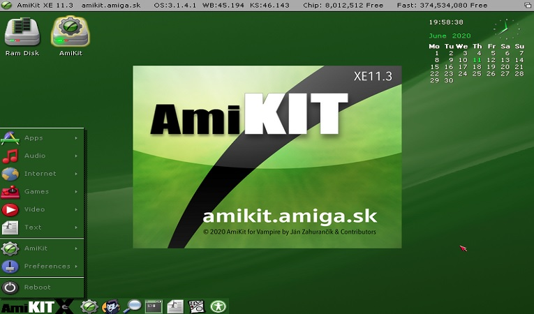 AmiKit XE Released: Works on any Vampire V2 or V4