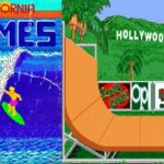 California Games: C64 and Amiga  blockbuster of the 80s