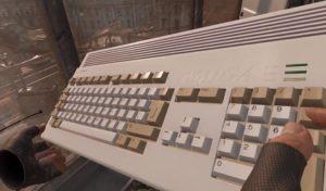 Iconic Commodore Amiga 1200 in Half-Life: Alyx