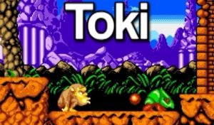 Toki:  Undeniably excellent, arcade game of the 80s