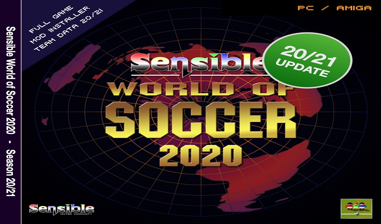 SWOS 2020/2021 Edition released for Windows and Amiga