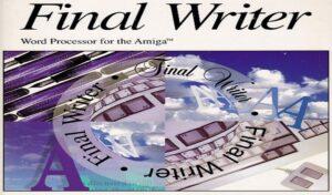 New Final Writer update is making progress