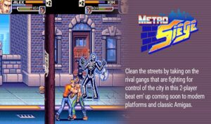 Metro Siege: upcoming Brawler game for Amiga is still in development