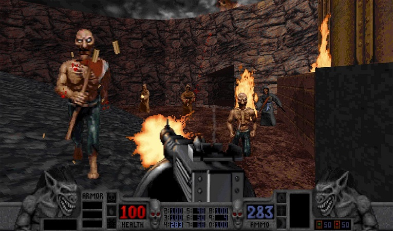 First public Amiga release of MS-DOS classic Blood